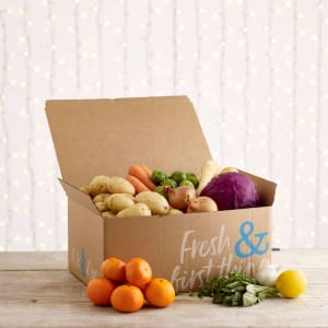 Christmas Organic Fruit and Veg Box