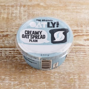 Oatly Creamy Oat Spread Plain, 150g