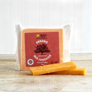 Belton Farm Organic Red Leicester, 200g
