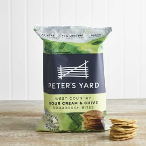 Peter's Yard West Country Sour Cream & Chive Sourdough Bites, 90g