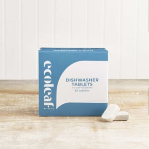 Ecoleaf Dishwasher Tablets, 25 Pack
