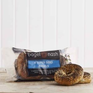 Bagel Nash Superseed Bagels, 4 Pack, 400g