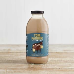 Tom Parker Chocolate Salted Caramel Milk in Glass, 500ml