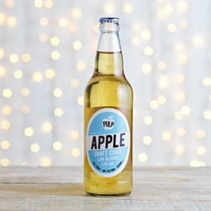 PULP Apple 0.5% ABV Craft Cider in Glass, 500ml