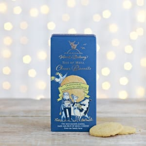 Island Bakery Isle of Mull Traditional Farmhouse Cheddar Cheese Biscuits, 100g