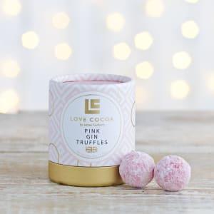 Love Cocoa Pink Gin Truffles, 50g