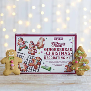 Lottie Shaw's Christmas Gingerbread Decorating Kit, 140g