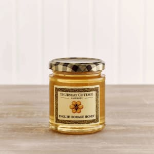 Thursday Cottage English Borage Honey in Glass, 240g