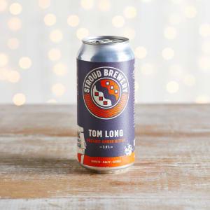 Stroud Brewery Tom Long Organic Amber Bitter, 3.8% ABV, 12 Pack, 12 x 440ml