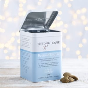 The Dog House Bedtime Biscuits Tin, 250g