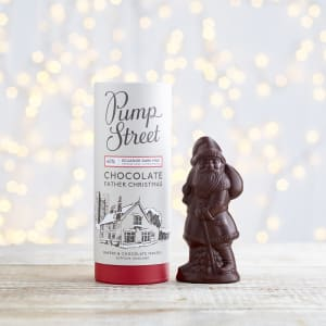 Pump Street Dark Chocolate Father Christmas, 50g