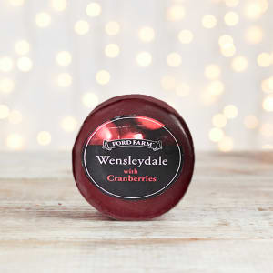 Ford Farm Wensleydale & Cranberry Round Cheese, 200g