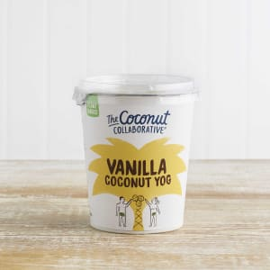 The Coconut Collaborative Dairy Free Vanilla Coconut Yogurt Alternative, 350g