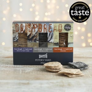 Peter's Yard  Sourdough Crispbread Selection Box, 265g