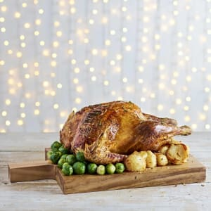 Jimmy's Farm Free Range Bronze Feathered Turkey, 5kg