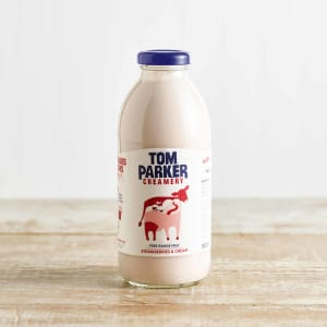 Tom Parker Strawberries & Cream in Glass, 500ml