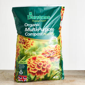Durstons Organic Peat-Free Multi-Purpose Compost, 40L
