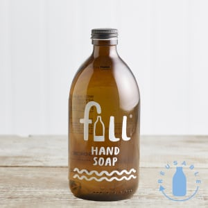 Fill Hand Soap Fig Leaf in Glass, 500ml