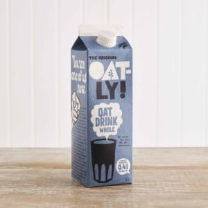 Oatly Oat Drink Whole, 1Ltr