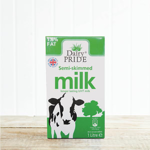 Dairy Pride Semi-Skimmed UHT Milk, 1L