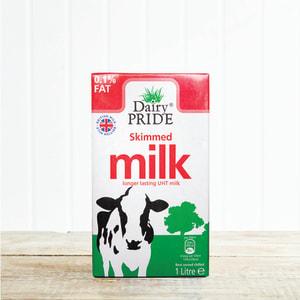 Dairy Pride Skimmed UHT Milk, 1L