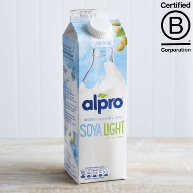 Alpro Soya Original Light Milk Alternative Unsweetened, 1L