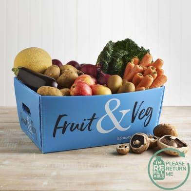 Seasonal Organic Fruit Veg Box Fresh Milk More
