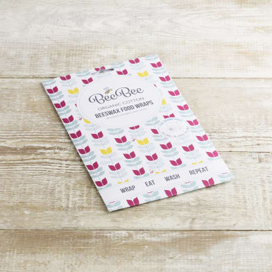 Beebee Organic Cotton Beeswax Wraps At Home Milk More