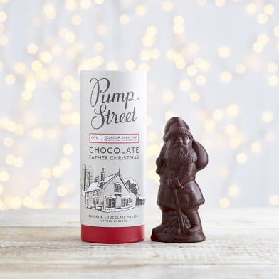 Pump Street Dark Chocolate Father Christmas Seasonal