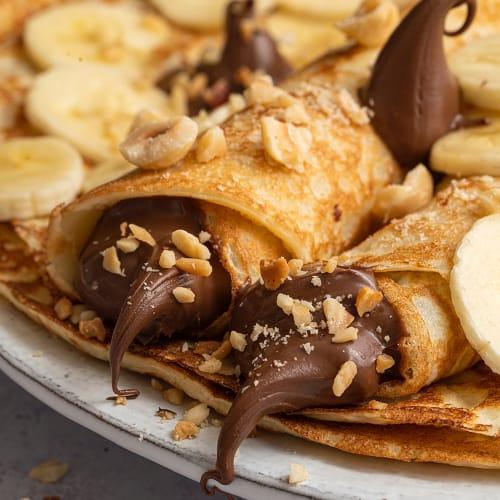 Indulgent Chocolatey Pancakes