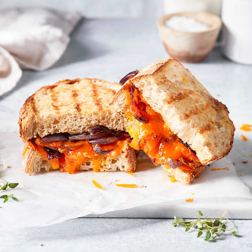 Red Leicester and Caramelised Onion
