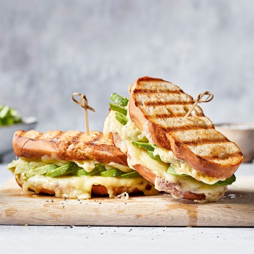Mature Cheddar and Avocado Grilled Sandwich
